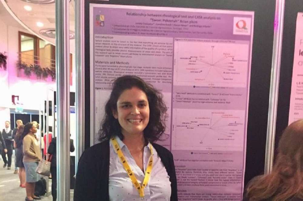 """Investigadora Loreto Contador asiste al """"13th Pangborn Sensory Science Symposium"""", en Edimburgo, Escocia."""