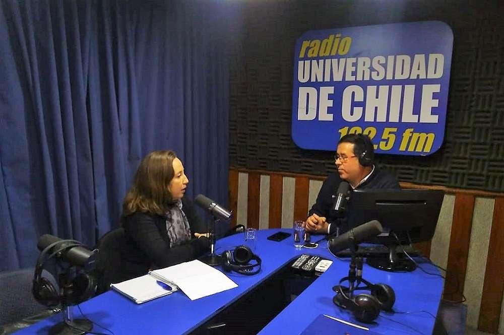Entrevista Radio Universidad de Chile