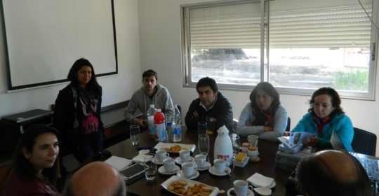 Visita terreno FONDEF a PMG Kiwi Chile-Italia